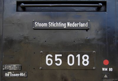 Stoom Stiching Nederland BR65 018 - BD Essen, Bw Essen-Hbf