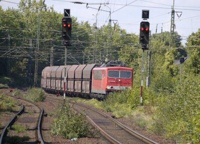 Güterzug - Einfahrt Viersen