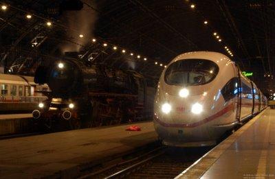 Eisenbahn-Epochen Dampfschnellzug