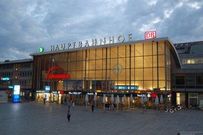 Hauptbahnhof Köln Dom