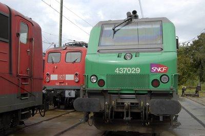 SNCF 437029 mit DB E140 761-8