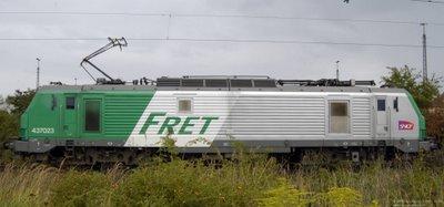 SNCF 437023 im Güterbahnhof Gremberg