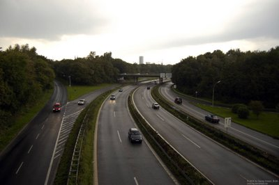 Stadtautobahn - Flughafenautobahn