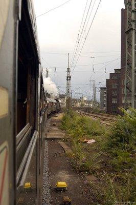 Einfahrt Köln Hbf - Hansaring