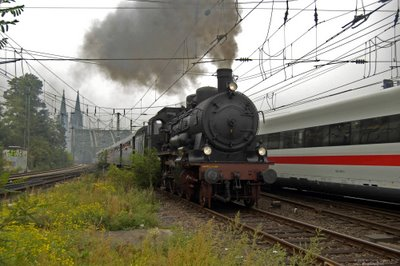 Dampfzug Sonderfahrt