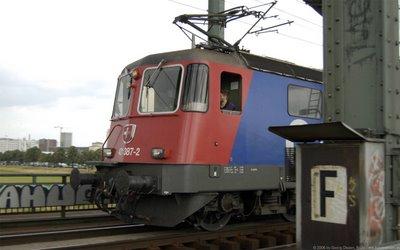 SBB Cargo E 421 387-2