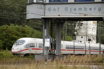 Gnf Gremberg - ICE-Durchfahrt
