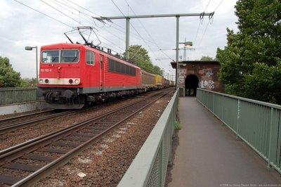 DB E 155192-8 Güterzug