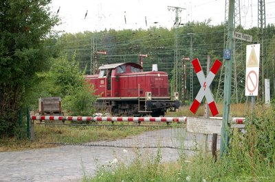 Bahnübergang Porzer Ringstrasse