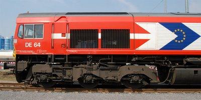 Class66 DE64 der HGK