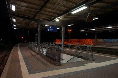 Brühl Bahnsteig der Gleise 1 und 4