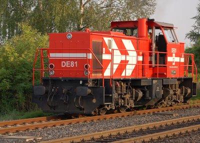 HGK DE81 Abfahrt
