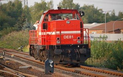 HGK DE81 Rangierfahrt