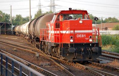 HGK DE81 Kesselwagenzug
