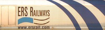 Class 66 ERS Railways 6606 Seite - Logo