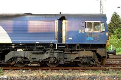 Class 66 ERS Railways 6606 Führerstand