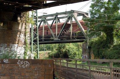 Brückenbauwerke über mehrere Ebenen