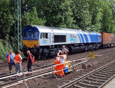 Class66 ERS Railways Güterzug