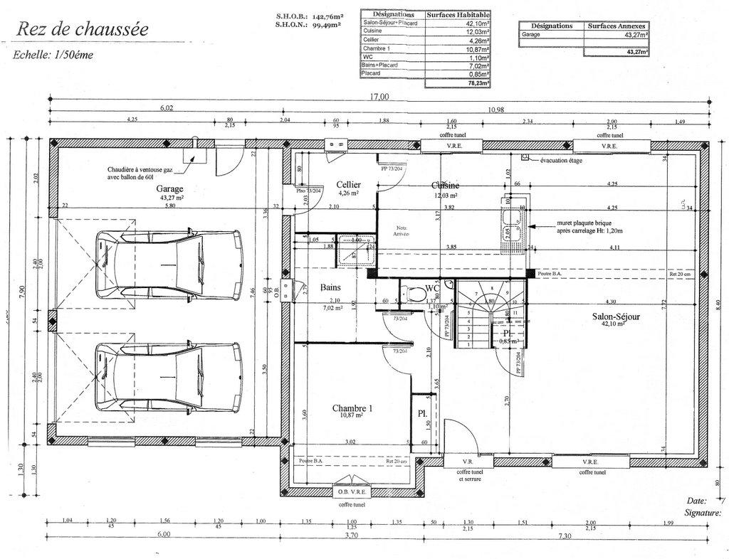 notre nouvelle maison plan rdc