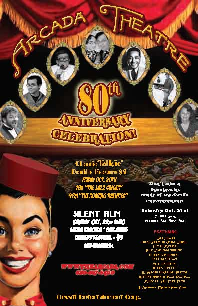 onesti entertainment historic arcada theatre celebrates