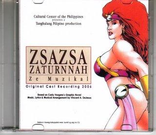 ZsaZsa Zaturnnah Original Cast Recording