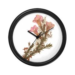 Morning Weeds Wall Clock
