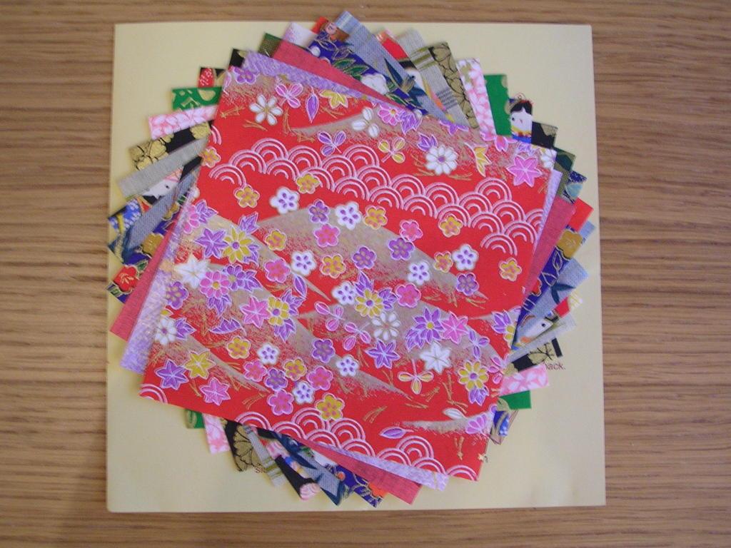 Angevine - Papier cadeau origami ...