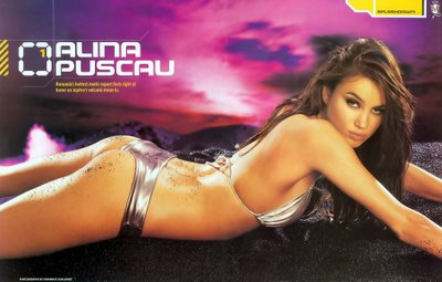 Romanian babe Alina Puscau