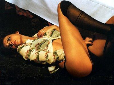 Eva Padberg in lingerie