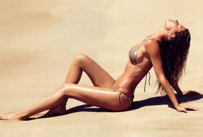Gisele Bundchen On the beach in a bikini