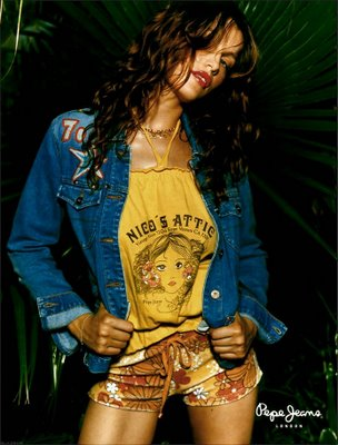 Laetitia Casta for Pepe Jeans