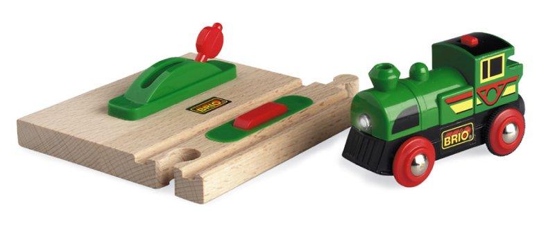 Trains jouets 200605  200606 ~ Train Bois Electrique