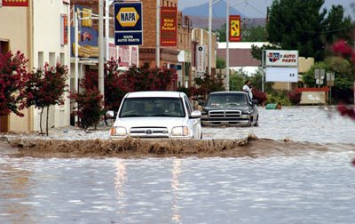 Flooding in Hatch New Mexico