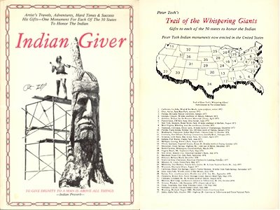 Indian Giver by Peter Wolf Toth