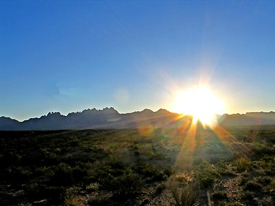 Sunrise - Organ Mountains
