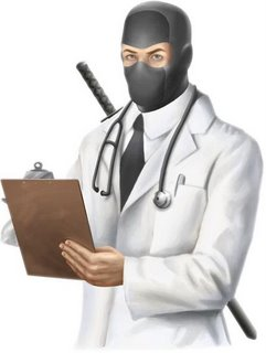 Dr McNinja will see you now