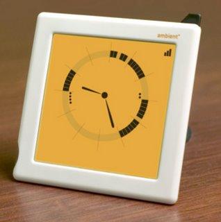 Une horloge Google Calendar
