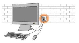 une prise murale qui fait office d'ordinateur