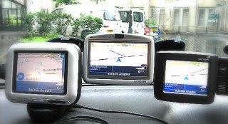 Comparaisons GPS: Tomtom et ses amis