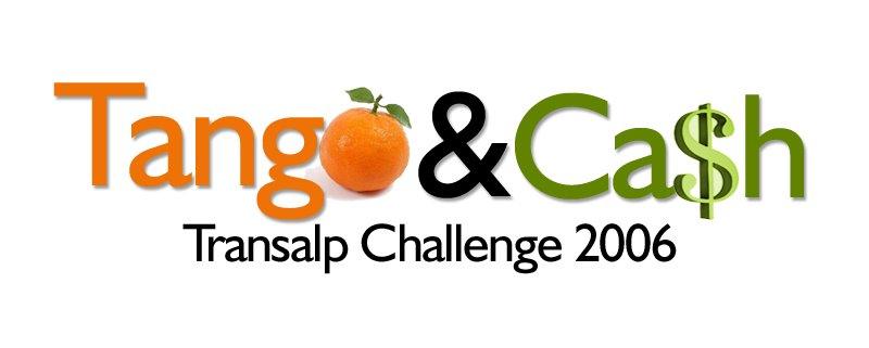 Tango and Cash take on the Transalp Challenge 2006