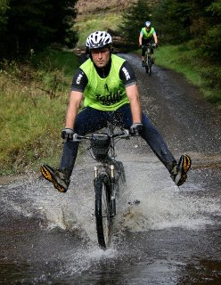 Banagher adventure race river crossing