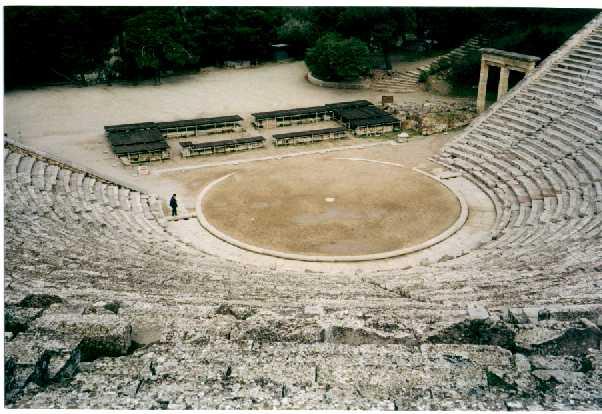 Teatro griego Como eran las casas griegas