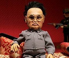 Boneco do ditador no filme Team America