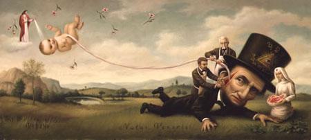 Pintura de Mark Ryden