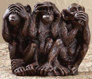 Macaco cego, macaco surdo, macaco mudo