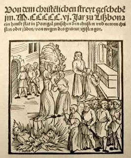 Lisboa: Progrom (massacre de judeus) de 1506