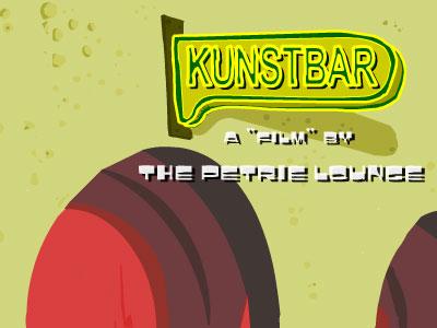 'Kunstbar', uma animação de The Petrie Lounge