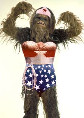 Image result for wookiee wearing clothes
