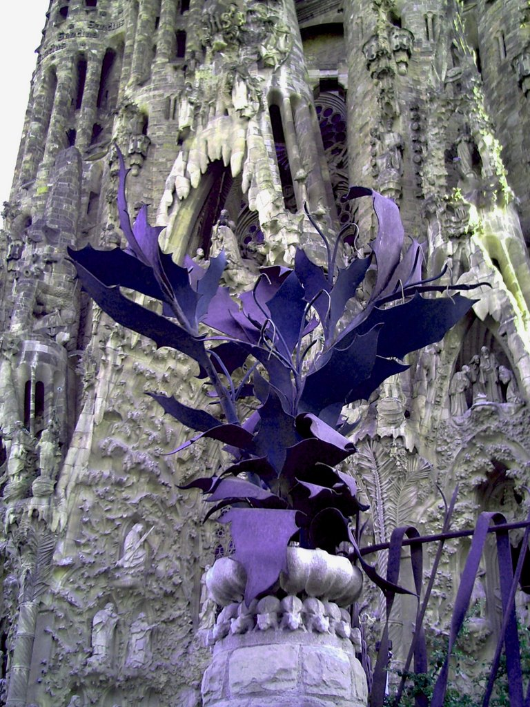 Sagrada Familia: Floral Adornment