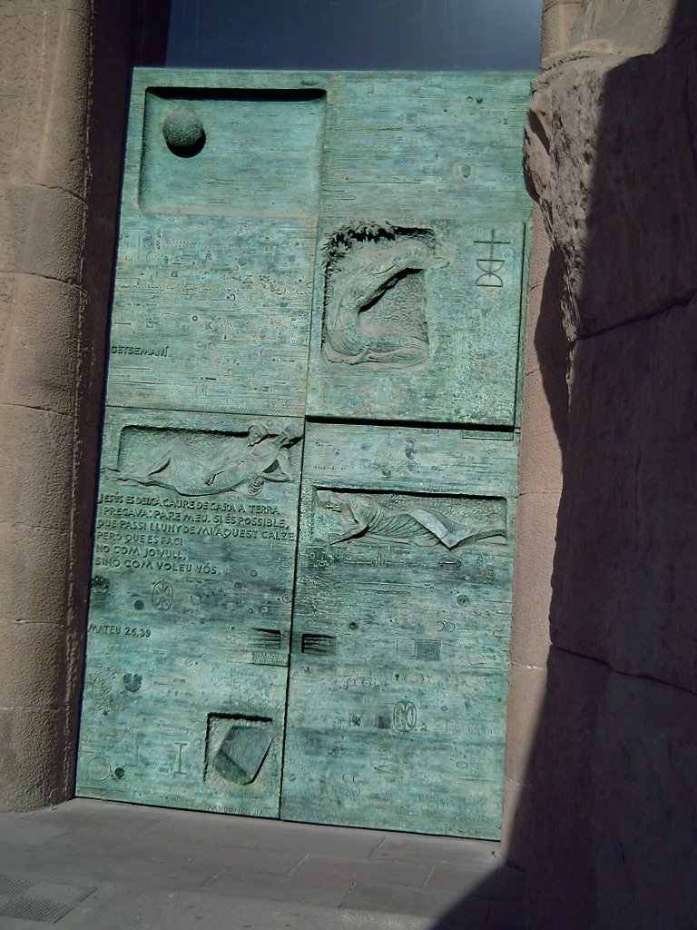 Sagrada Familia: The Passion Façade Big Gates